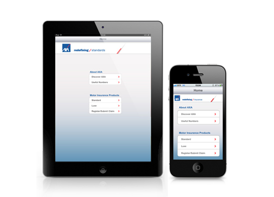 iPad App Development - AXA Middle
