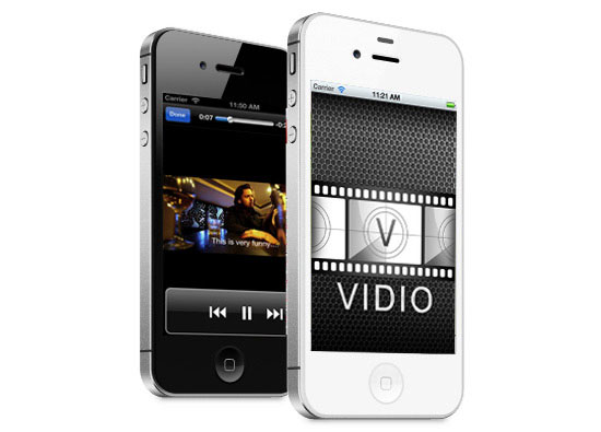 iPhone App Development - Vidio