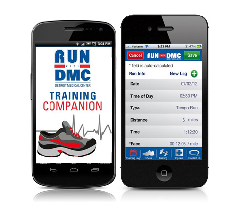 Mobile App Development - Run with DMC