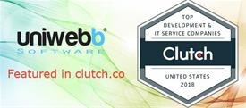 Uniwebb Software Recognized on Clutch.co's Press Release