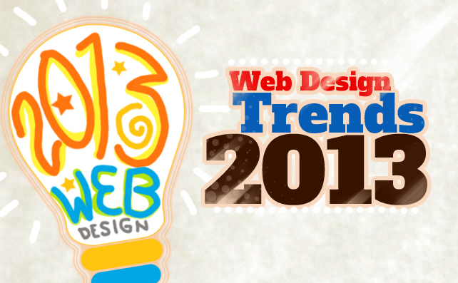 Top 10 Web Design Trends for 2013