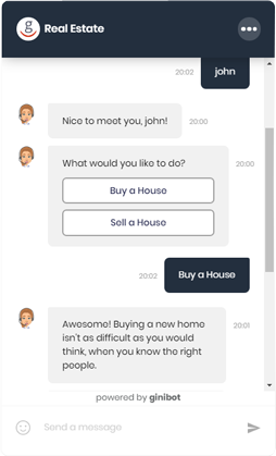AI-powered conversation mortgage chatbot